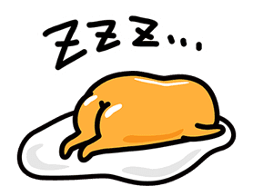 gudetama sticker #7115169