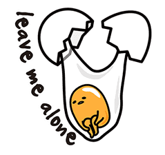 gudetama sticker #7115170