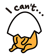 gudetama sticker #7115173