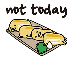 gudetama sticker #7115183