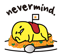gudetama sticker #7115185