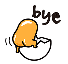 gudetama sticker #7115200