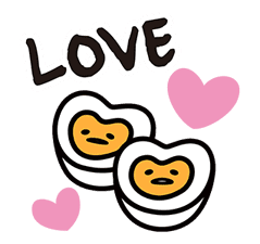 gudetama sticker #7115201