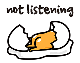 gudetama sticker #7115203
