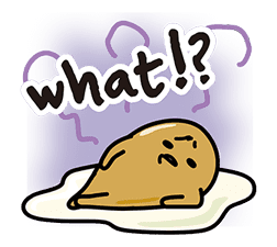 gudetama sticker #7115204