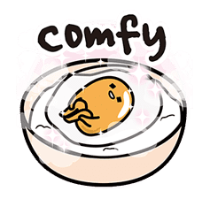 gudetama sticker #7115205
