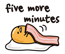 gudetama sticker #7115206