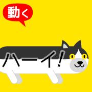 สติ๊กเกอร์ไลน์ Moving for Fukidashi Cat