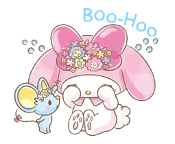 My Melody: Too Cute for You! sticker #7330008
