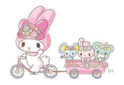 My Melody: Too Cute for You! sticker #7330009