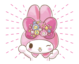 My Melody: Too Cute for You! sticker #7330010