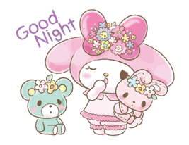 My Melody: Too Cute for You! sticker #7330013
