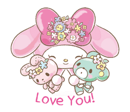 My Melody: Too Cute for You! sticker #7330014