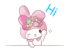 My Melody: Too Cute for You! sticker #7330015