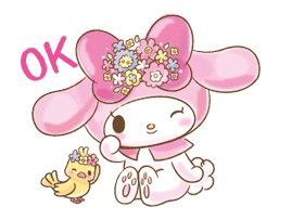 My Melody: Too Cute for You! sticker #7330019