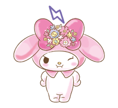My Melody: Too Cute for You! sticker #7330021