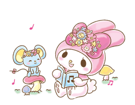 My Melody: Too Cute for You! sticker #7330025