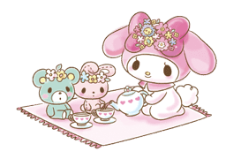 My Melody: Too Cute for You! sticker #7330027