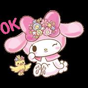 สติ๊กเกอร์ไลน์ My Melody: Too Cute for You!