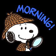 สติ๊กเกอร์ไลน์ Snoopy in Disguise