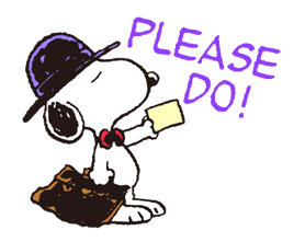 Snoopy in Disguise sticker #7669836