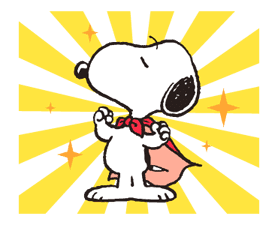 Snoopy in Disguise sticker #7669838