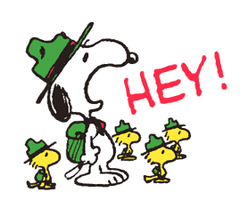 Snoopy in Disguise sticker #7669844