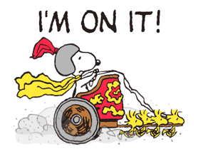 Snoopy in Disguise sticker #7669845