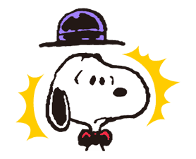 Snoopy in Disguise sticker #7669852