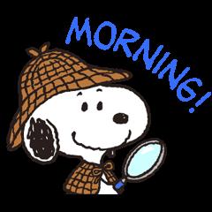 Snoopy in Disguise © 2015 Peanuts Worldwide LLC| elPortale | Sell LINE Sticker, Sell LINE Theme