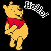 สติ๊กเกอร์ไลน์ หมีพูห์และผองเพื่อน ดุ๊กดิ๊กได้!