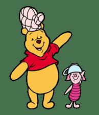 Pooh & Friends - Cute & Cuddly sticker #7901299
