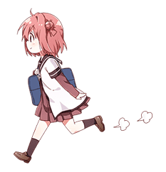 YURU-YURI sticker #8031407