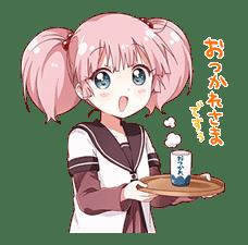 YURU-YURI sticker #8031424