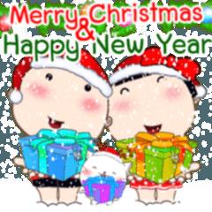 ลูกชิ้น กับ กวยจี๊ คริสต์มาสและปีใหม่
