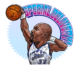 NBA Legends sticker #8693331