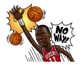 NBA Legends sticker #8693333