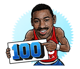 NBA Legends sticker #8693334