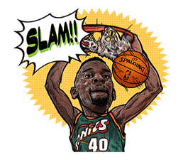 NBA Legends sticker #8693342