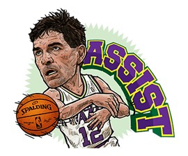 NBA Legends sticker #8693356
