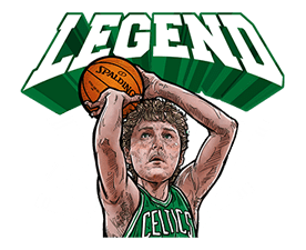 NBA Legends sticker #8693366