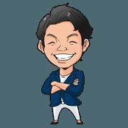 สติ๊กเกอร์ไลน์ Ryosuke Yokoyama's sticker