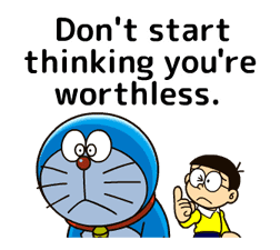 Doraemon: Moving Quotes sticker #8452222