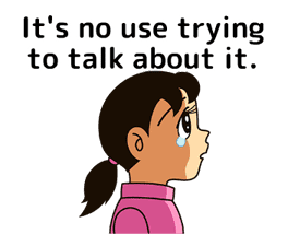 Doraemon: Moving Quotes sticker #8452226