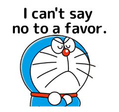 Doraemon: Moving Quotes sticker #8452230