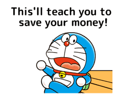 Doraemon: Moving Quotes sticker #8452236