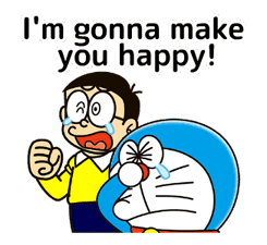 Doraemon: Moving Quotes sticker #8452237