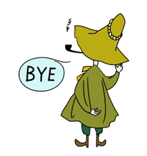 Moomin: Animated Stickers sticker #8446276