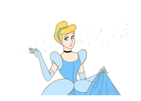 Disney Princess Cute & Animated sticker #8795531