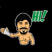 สติ๊กเกอร์ไลน์ Manny Pacquiao